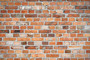 Old Weathered Red Brick Wall Wallpaper Mural