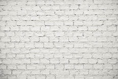 Old Whitewashed Brick Wall Wallpaper Mural