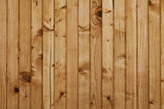 Pine Wood Planks Wall Mural