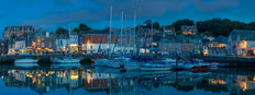 Padstow Panoramic Mural Wallpaper