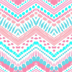 Painted Chevron Design Wallpaper