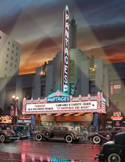 Pantages Theatre 1934 Wall Mural