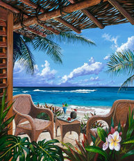 Paradise Porch Wall Mural