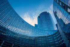 Paris La Defense Architecture Mural Wallpaper