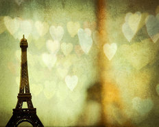Paris is for Lovers Mural Wallpaper