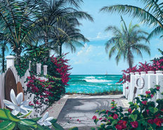 Pathway to Paradise Wall Mural