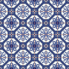 Pattern Tile Texture Wall Mural