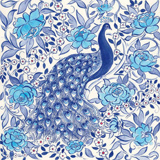 Peacock Garden Wallpaper Mural