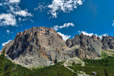 Peaks of the Italian Dolomites Wall Mural