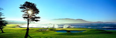 Pebble Beach Golf Links - 18th Hole   Mural Wallpaper