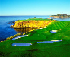Pebble Beach Golf Links - 8th Hole  Mural Wallpaper
