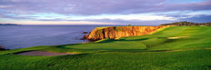 Pebble Beach Golf Links - 8th Hole Panoramic Wallpaper Mural
