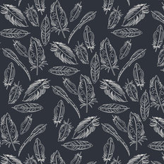 Petal and Plume - Panache Profundo Wallpaper