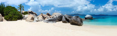 Picture Perfect Beach At The British Virgin Islands Mural Wallpaper
