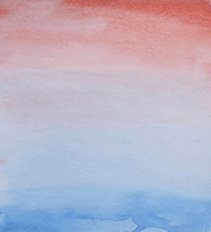 Pink and Blue Ombre Wall Mural
