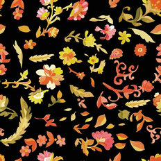Pink Floral Pattern Wallpaper
