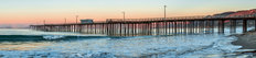 Pismo Beach Pier At Sunrise Wall Mural