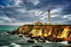 Point Arena Lighthouse Wall Mural