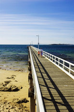 Point Lonsdale Pier Wall Mural