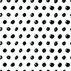 Polka Dot Pattern Wallpaper