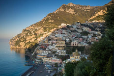 Positano Morning Mural Wallpaper