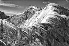 Purcell Mountains in Winter Wall Mural