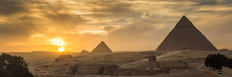Pyramid Of Giza In Egypt Wall Mural