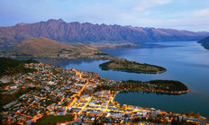 Aerial View Of Queenstown Wallpaper Mural