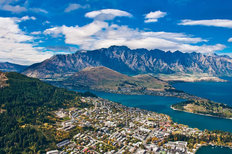 View Of Queenstown Mural Wallpaper