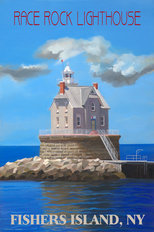 Race Rock Lighthouse Fisher's Island Wallpaper Mural