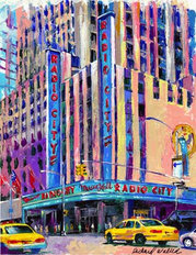 Radio City Music Hall Wall Mural