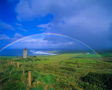 Rainbow Castle -Ireland Mural Wallpaper