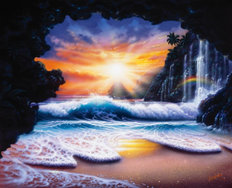 Rainbow Cove Wall Mural