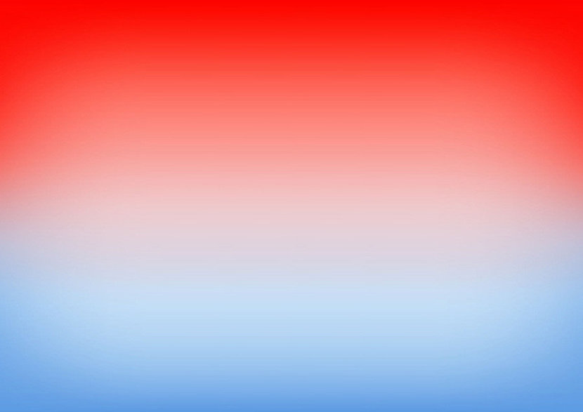 Red And Blue Ombre
