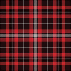 Red And Black Tartan Pattern Wallpaper