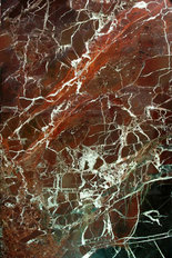 Red Marble Crackle Wall Mural