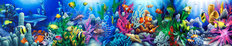Reef Life 2 Wall Mural