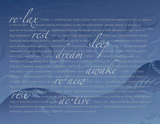 Restful-Blue Wallpaper Mural