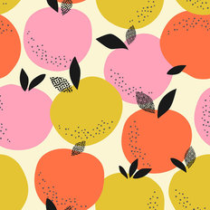 Retro Fruit Pattern - Spring Wallpaper
