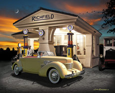 Richfield Cord Wallpaper Mural