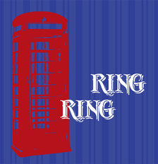Ring Ring Wallpaper Mural