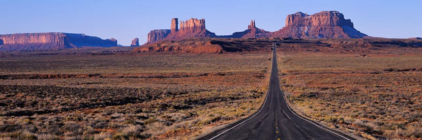 Road into Monument  Valley Wall Mural
