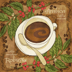 Robusta Coffee Wall Mural