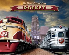 Rock Island Rocket Wall Mural