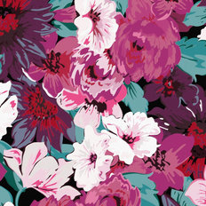 Romantic Floral Wallpaper