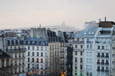 Roofs Of Paris  Wall Mural