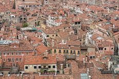 Rooftops of Venice Wall Mural