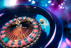 Roulette In Motion Wallpaper Mural