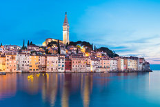 Rovinj City In Croatia Wall Mural