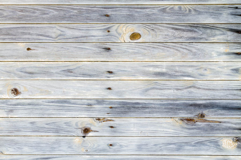 Rustic Wood With Knots and Nails Wallpaper Mural